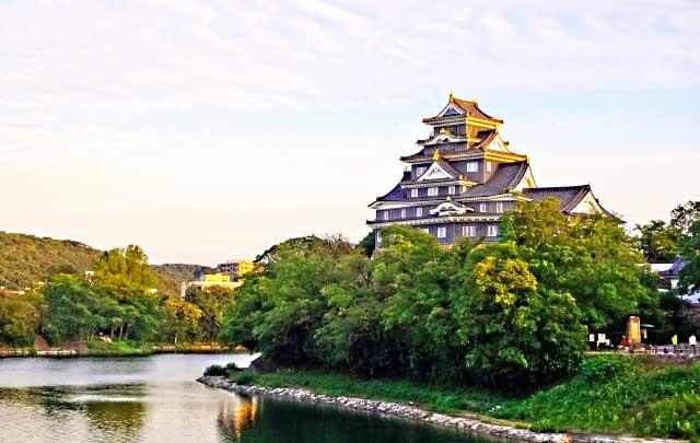 大阪から岡山後楽園