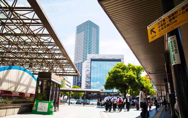 広島駅から福岡へ出発